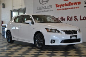 Lexus CT 200h in London