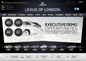 The New LexusofLondon.com