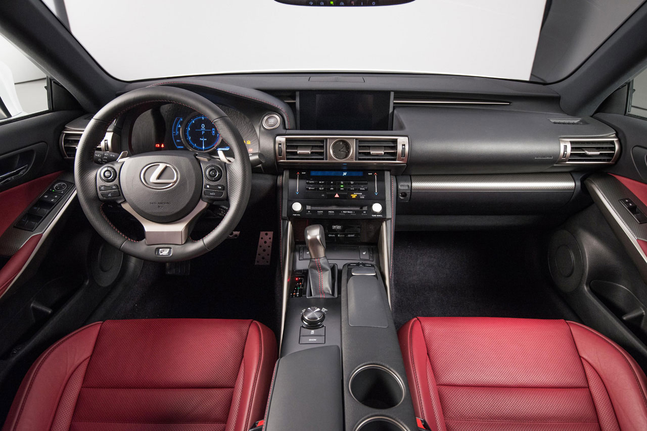 2014 Lexus IS 350 interior