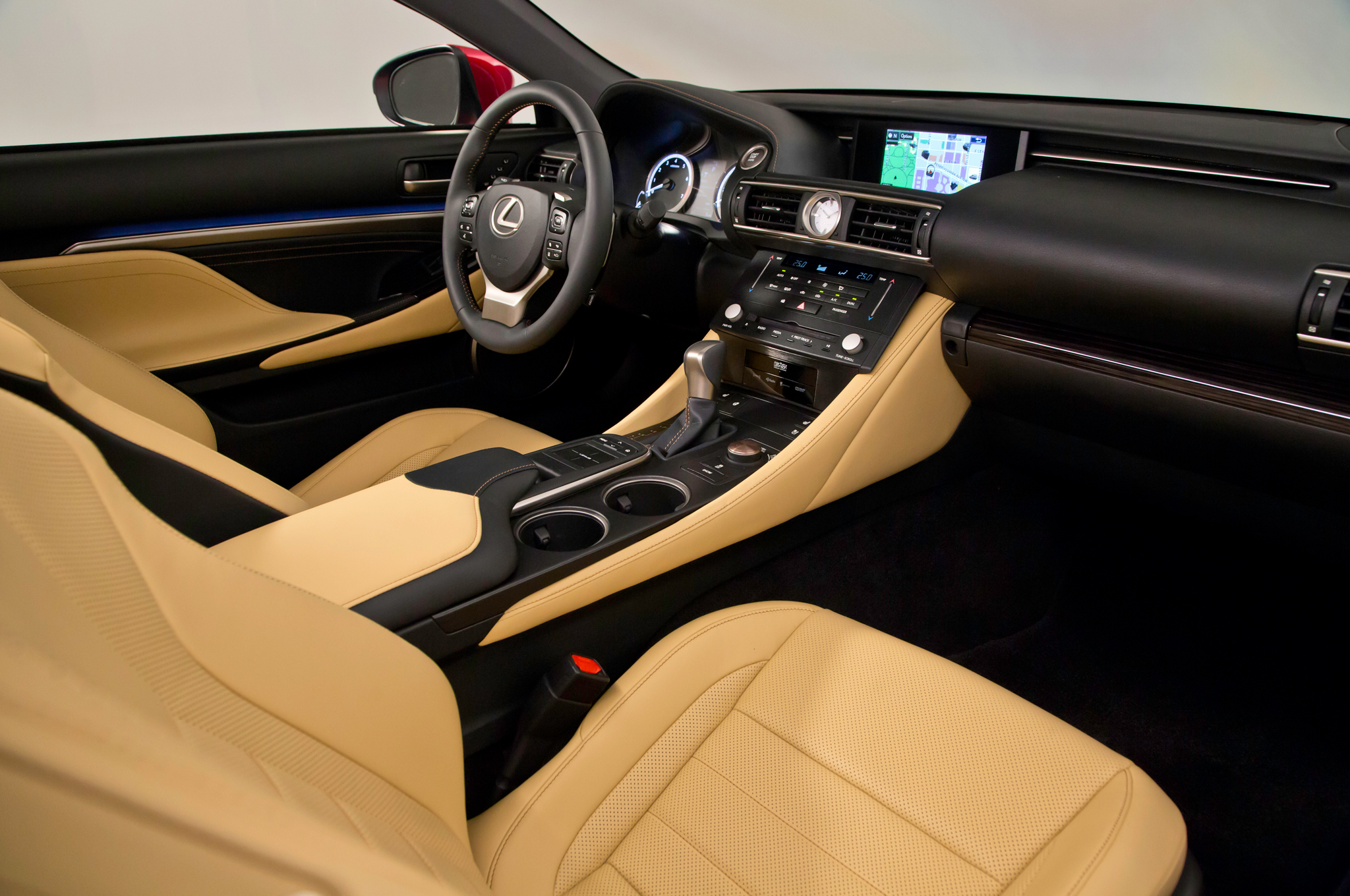 2015 Lexus RC Coupe Interior